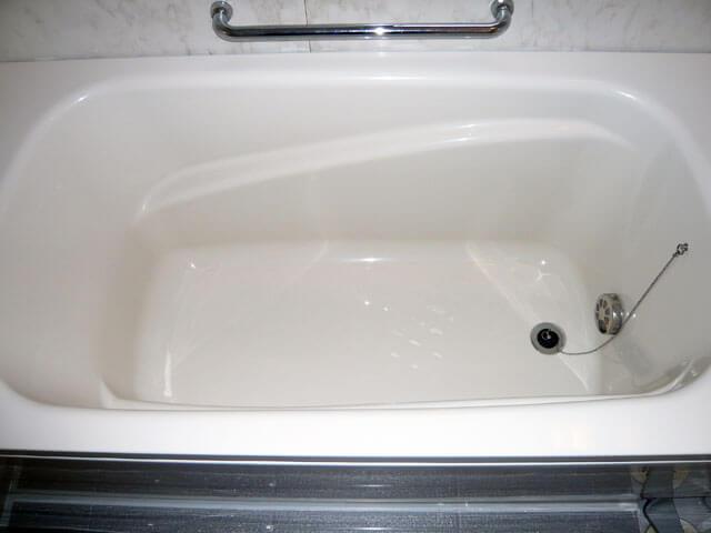 浴室コーティングで蘇った浴槽