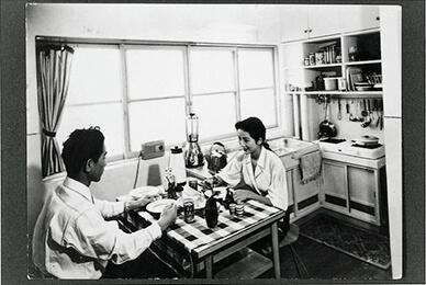 40年代のUR団地内の写真