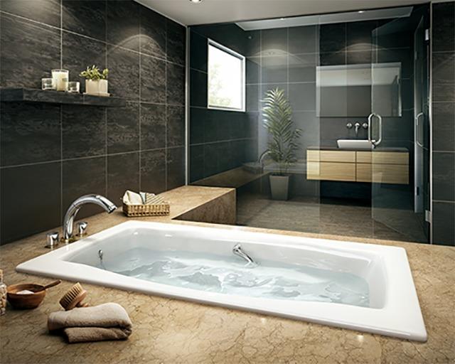 ホーロー浴槽の写真